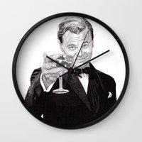 leonardo Wall Clocks featuring Leonardo by Rik Reimert