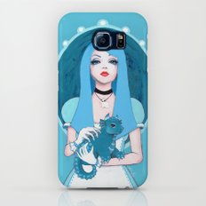 Alice Wore Blue Galaxy S6 Slim Case