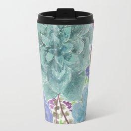 Colorful Succulents Travel Mug