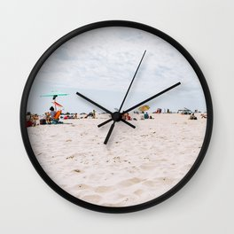 Jersey Shore, 2018. vintage edit Wall Clock