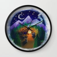feet Wall Clocks featuring Feet by Jenelle Grenier