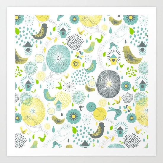 Spring Spirit Art Print