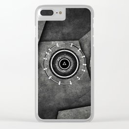 Abstract Circle Of Zelda Clear iPhone Case