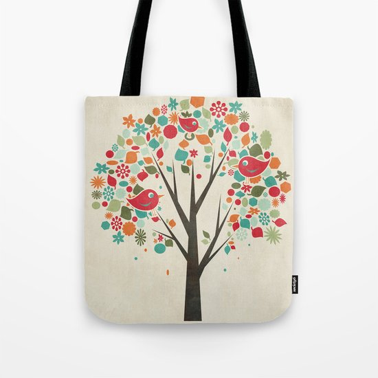 Home Birds Tote Bag