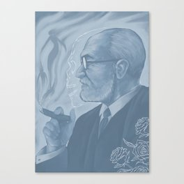 Sigmund Freud - Eros & Thanatos Canvas Print
