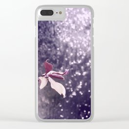 thinking of you Clear iPhone Case