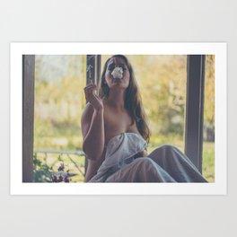 Blazing Art Print