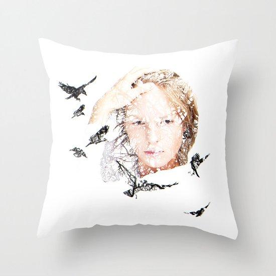 Let slip Throw Pillow