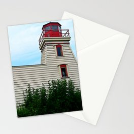 Lighthouse in the Garden Stationery Cards