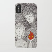 howl iPhone & iPod Cases featuring Howl by nu boniglio