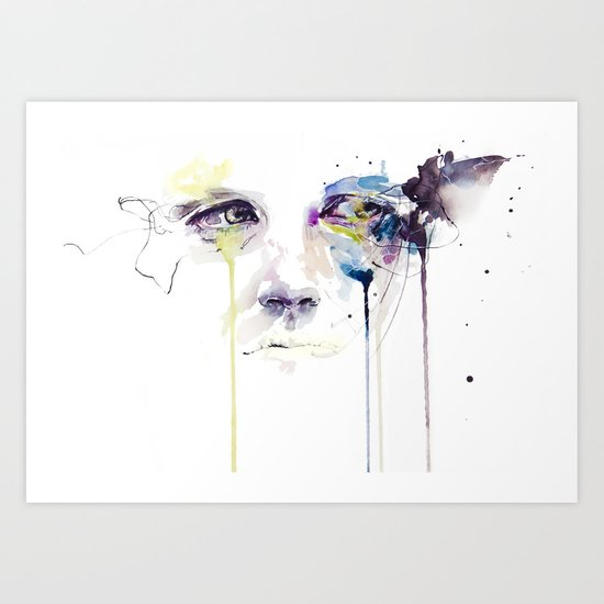 ill vision Art Print
