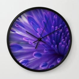 Flower_34 Wall Clock