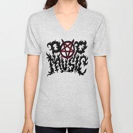 Pop Music Unisex V-Neck