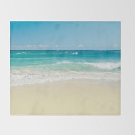 Beach Love Throw Blanket