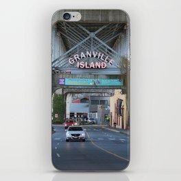 Granville Island 2 iPhone Skin