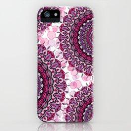 Mandala Forza spirituale iPhone Case