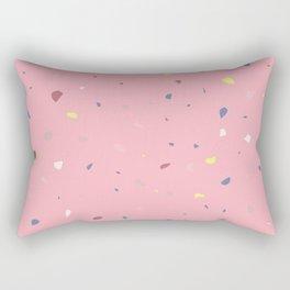 Strawberry Terrazzo Rectangular Pillow