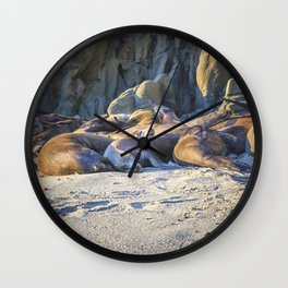 SleepyHeads Wall Clock