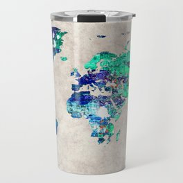 World Map 46 Travel Mug