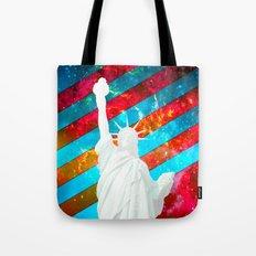 Liberty Pop Art Tote Bag
