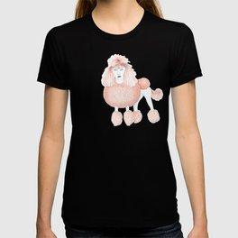 Weird poodles - Ginger dye T-shirt
