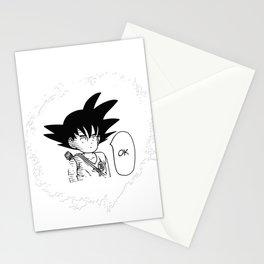 Ok One Punch man Goku Dragon Ball Stationery Cards