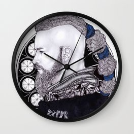 Ragnar Lothbrok Wall Clock