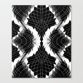 THE WIRES THROUGH Canvas Print
