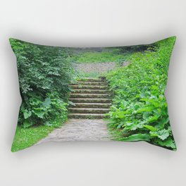 Springtime at Side Cut Rectangular Pillow