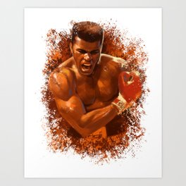 The People's Champ Art Print