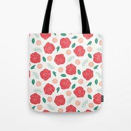 Moody Floral Tote Bag
