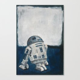 R2D2 and Rothko Canvas Print