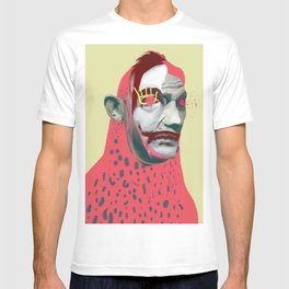 Salvador Obama, POP art style, digital collage T-shirt