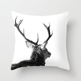 Hey Deer Throw Pillow