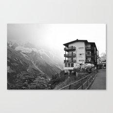 Murren Swiss Landscape Canvas Print