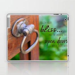 Bliss... Open Door Laptop & iPad Skin