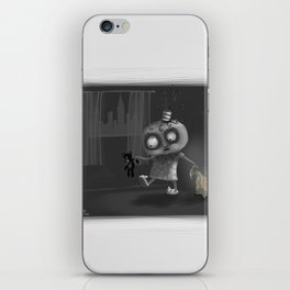 It is for your own safety iPhone Skin