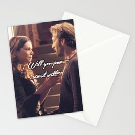 Luke and Lorelai - Stand Still Stationery Cards