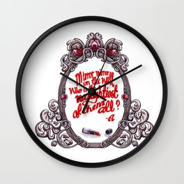 Who is the naughtiest of them all? Wall Clock