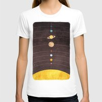 solar system T-shirts featuring Solar System by Annisa Tiara Utami