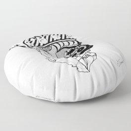 Skenderbeg Floor Pillow