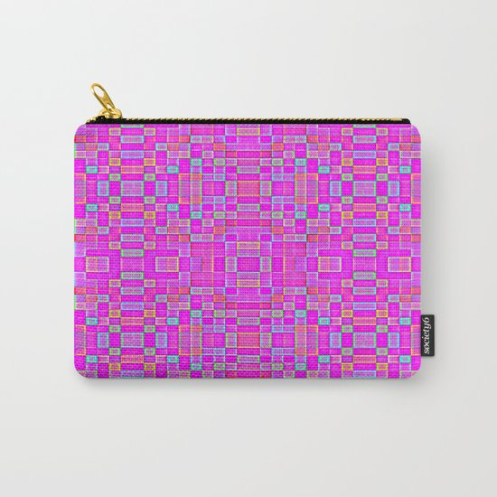 Candy Colored Pixels Carry-All Pouch