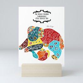 Labradoodle Tea Service Dogs: The Tea Cozy Mini Art Print