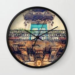 Trapani art 27 Sicilia Wall Clock