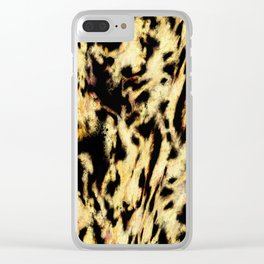 Animals passing by Clear iPhone Case