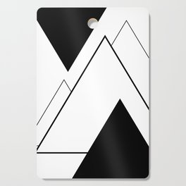 Minimal Mountains Cutting Board