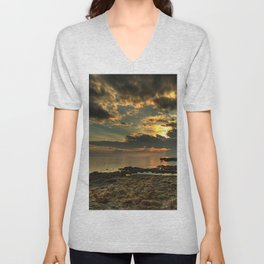 Shore of Desolation Unisex V-Neck