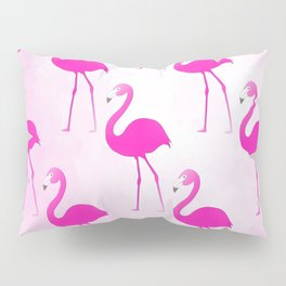 Seamless Flamingo Pillow Sham