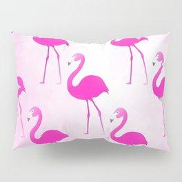 Seamless Flamingo Pillow Sham