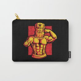 Soviets At The Gym   Fitness Training Muscles Carry-All Pouch